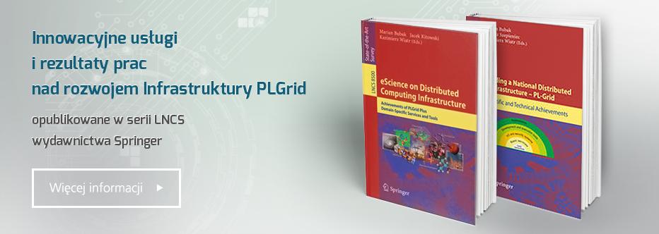 Książka PLGrid Plus w wydawnictwie Springer